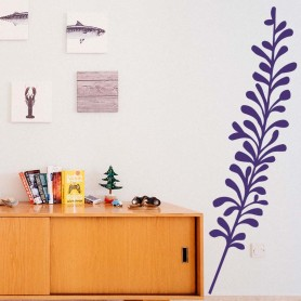 Vinilo decorativo pared lavanda