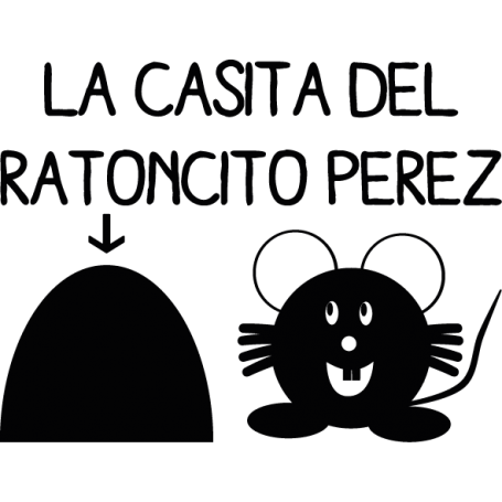 Vinilo Ratoncito Pérez