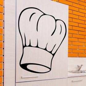 Vinilo cocina gorro Chef