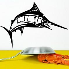 Vinilo decorativo pez espada