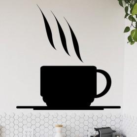 Vinilo cocina icono café