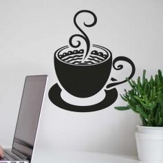 Vinilo café capuchino