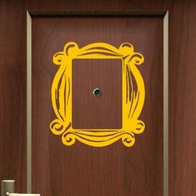 Vinilo marco mirilla puerta