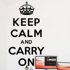 Vinilo pared keep calm