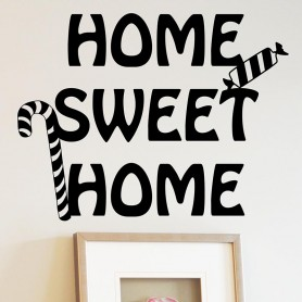 Vinilo decorativo Home Sweet Home