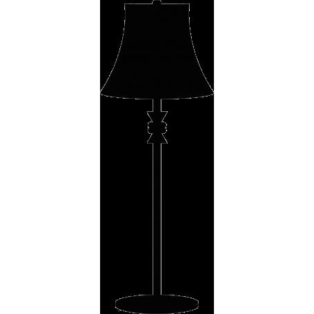 Vinilo Lámpara decorativa