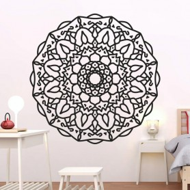 Vinilo pared mandala