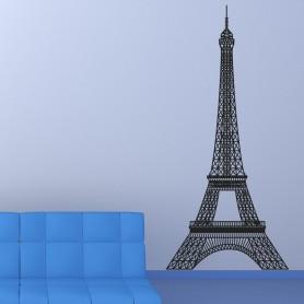 Vinilo pared Eiffel torre