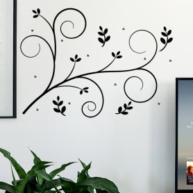 Vinilo decorativo pared ramillete