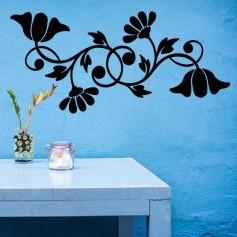 Vinilo para pared flor silvestre